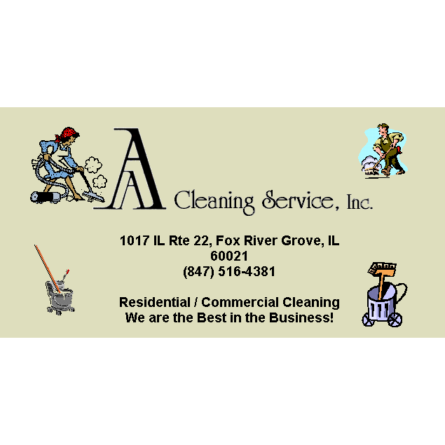 AA Cleaning Service, Inc Logo
