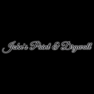 John's Paint & Drywall Logo