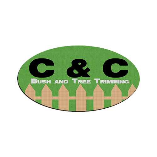 C & C Bush & Tree Trimming Logo