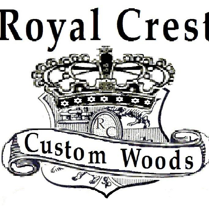 Royal Crest Custom Woods Logo