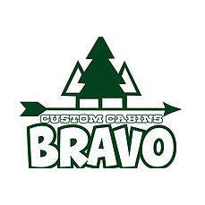 Bravo Custom Cabins Logo