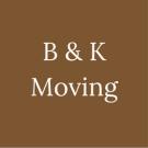 B & K Moving Logo