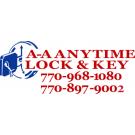 A-AAnytime Lock & Key Logo