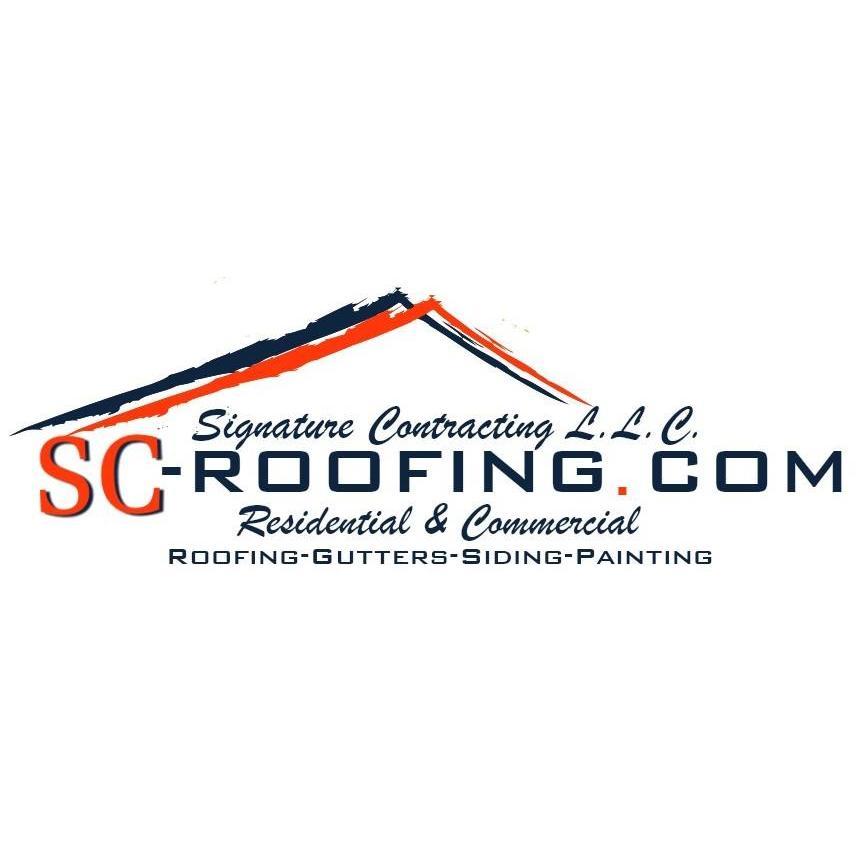 Signature Contracting Roofing L.L.C. Logo