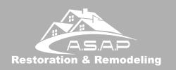 ASAP Restoration and Remodeling Logo