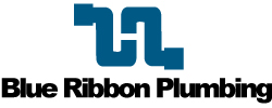 Blue Ribbon Plumbing Logo