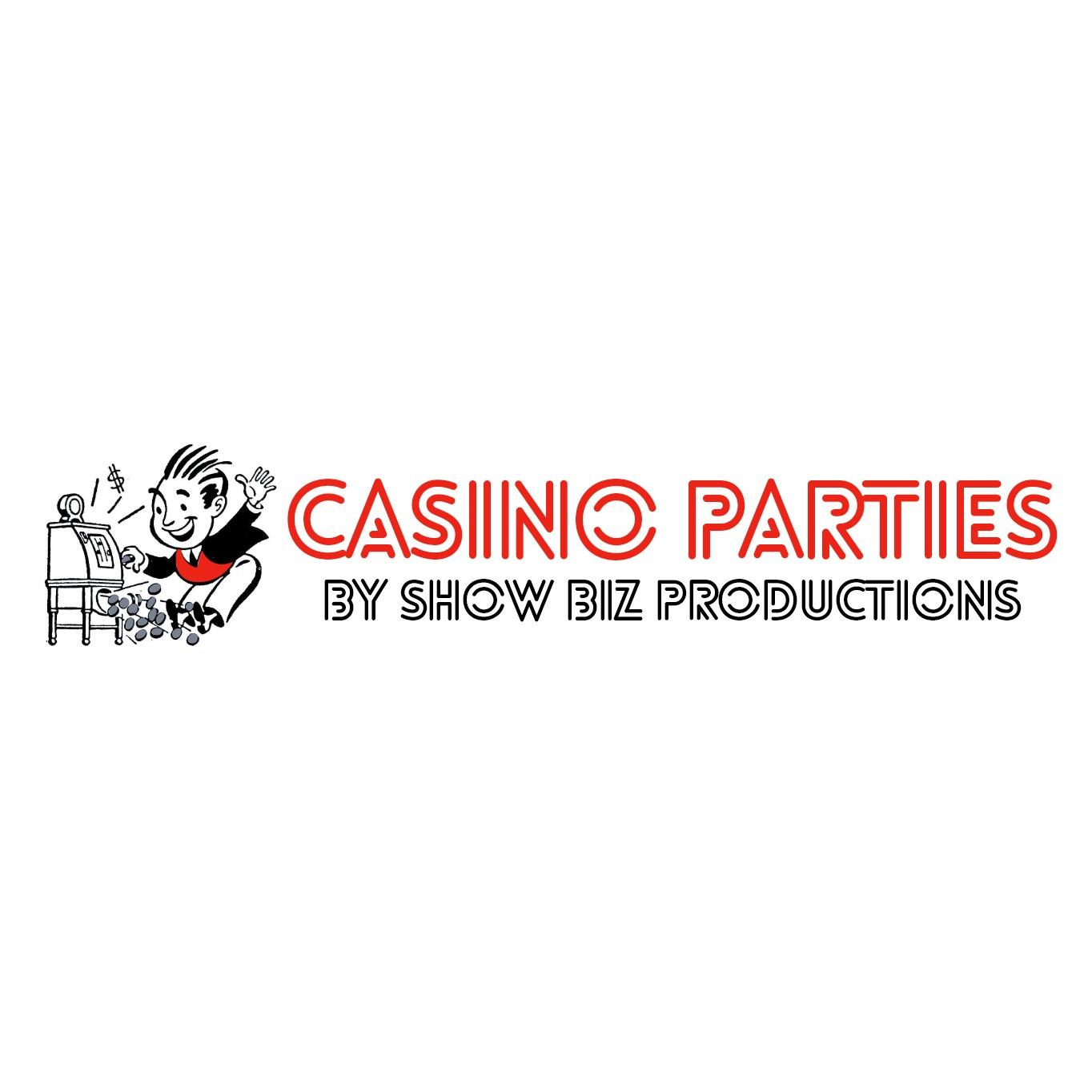 Casino Parties by Show Biz Productions Logo