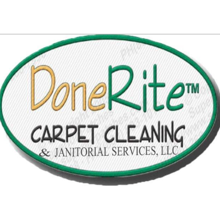 DoneRite Carpet Cleaning & Janitorial Services LLC Logo