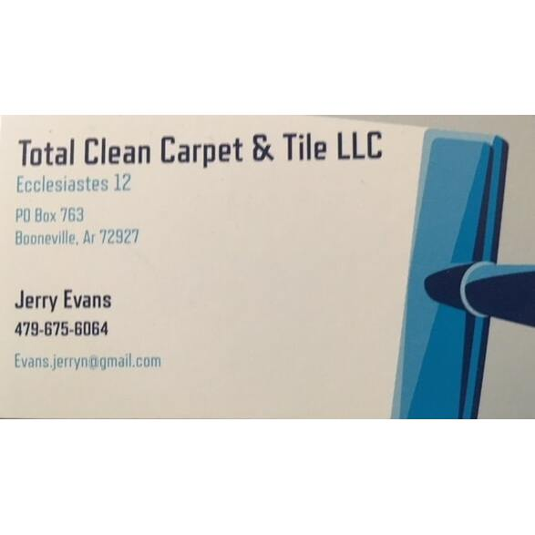 Total Clean Carpet & Tile LLC Logo