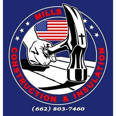 Mills Construction and Insulation Logo