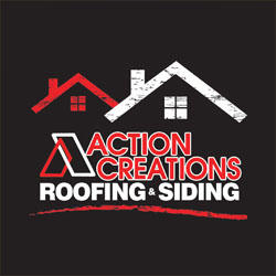 Action Creations Roofing & Siding Logo