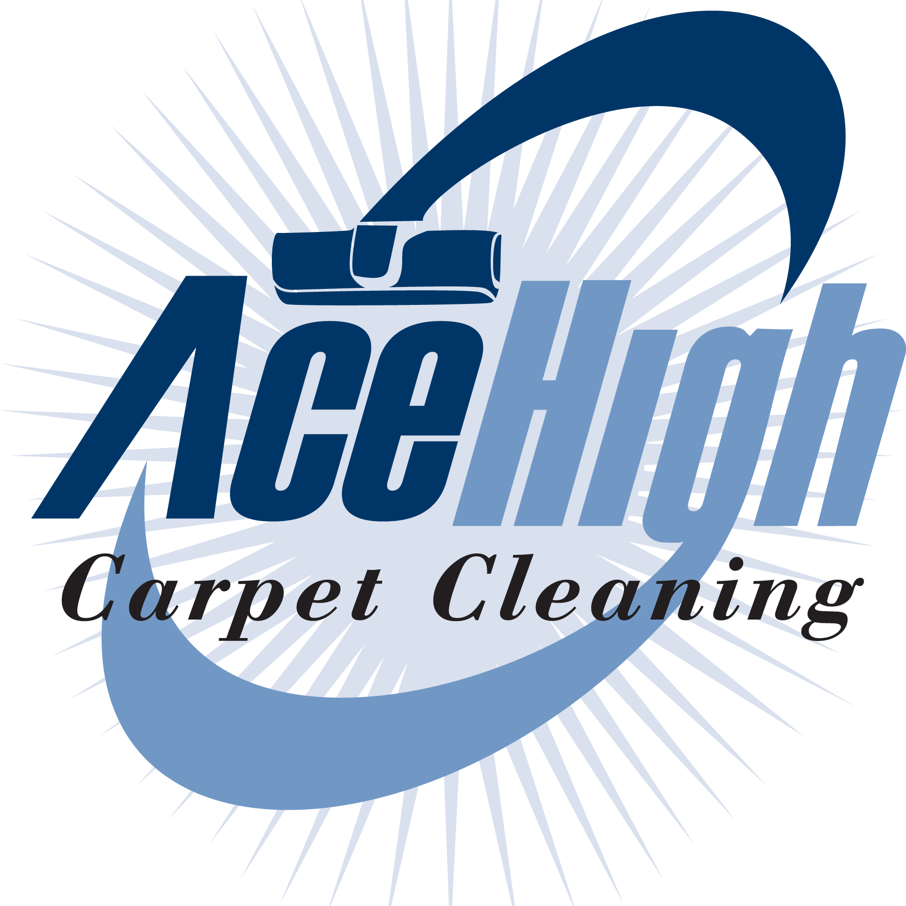 Ace High Carpet Cleaning Logo