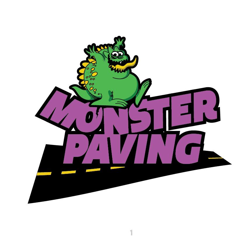 Monster Paving Logo