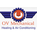 OV Mechanical Heating and Air Conditioning - 590639 Logo