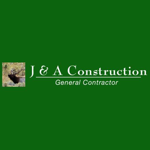 J & A Construction Logo