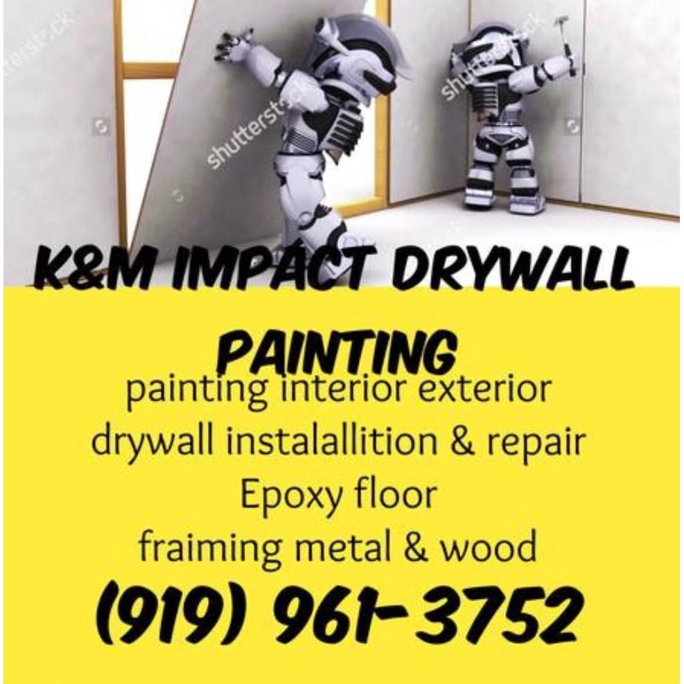 K&M Impact Drywall Painting Logo