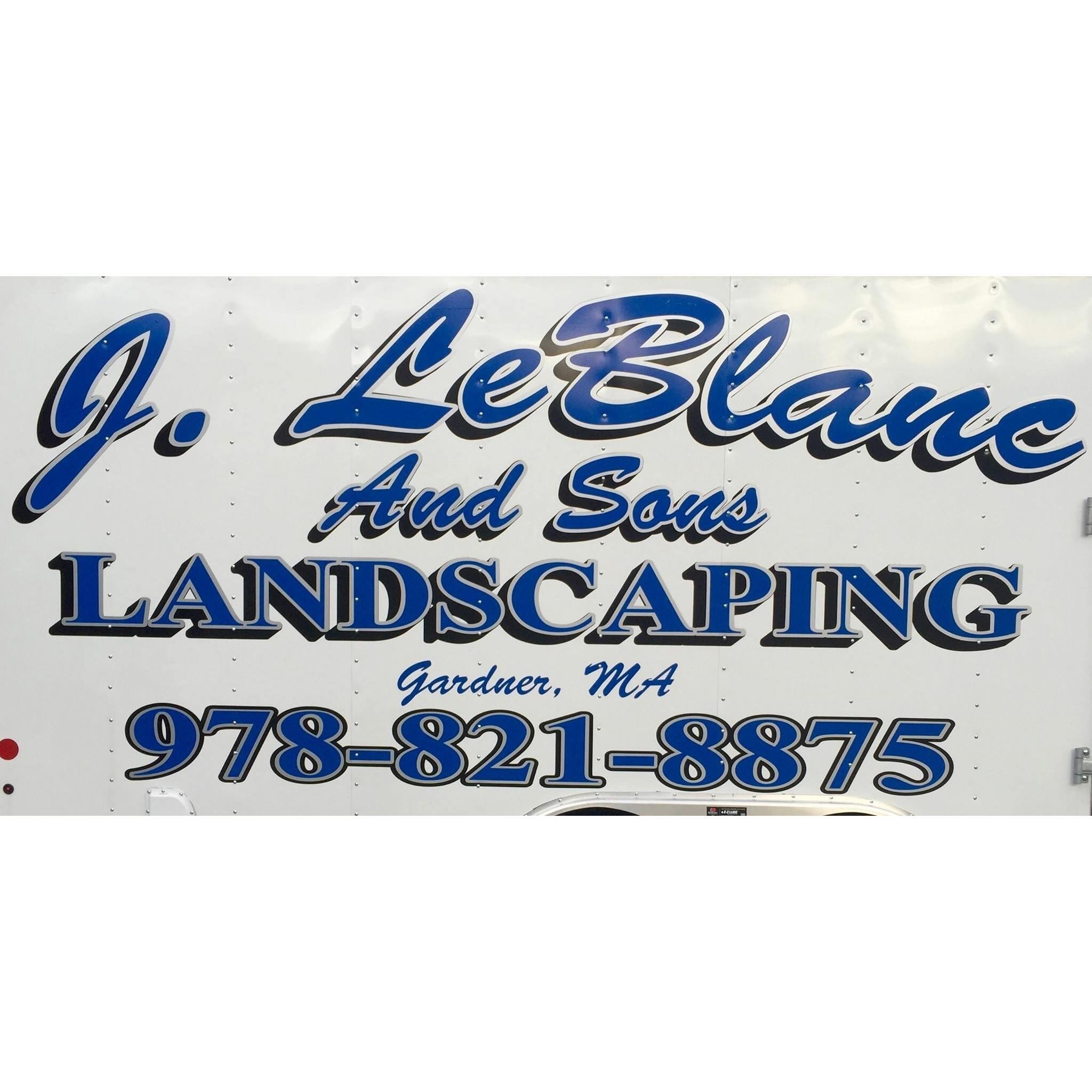 J. LeBlanc and Sons Landscaping Logo