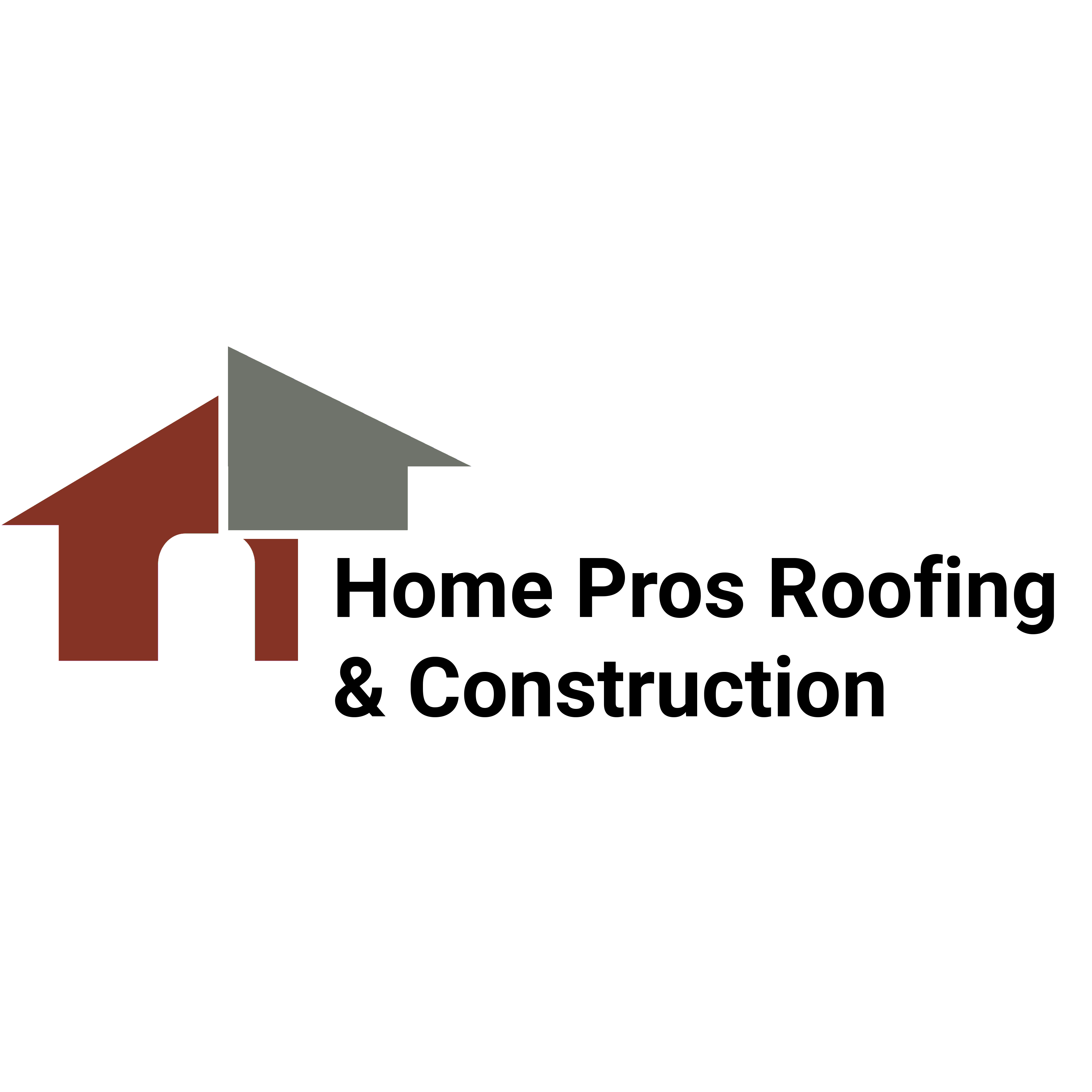 Home Pros Roofing & Construction Logo