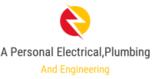 A Personal Electrical Plumbing & Engineering Logo