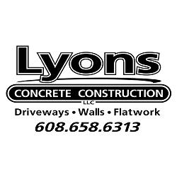 Lyons Concrete Construction Logo