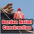 Burden Relief Construction Logo