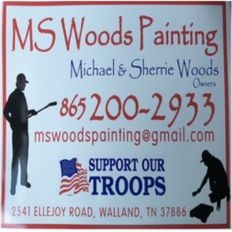 M S Woods Painting Logo