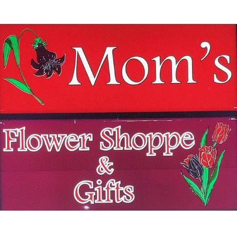 MOM'S FLOWER SHOPPE Logo