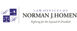 The Law Offices of Norman J. Homen Logo