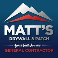 Matts Drywall & Patch Inc Logo