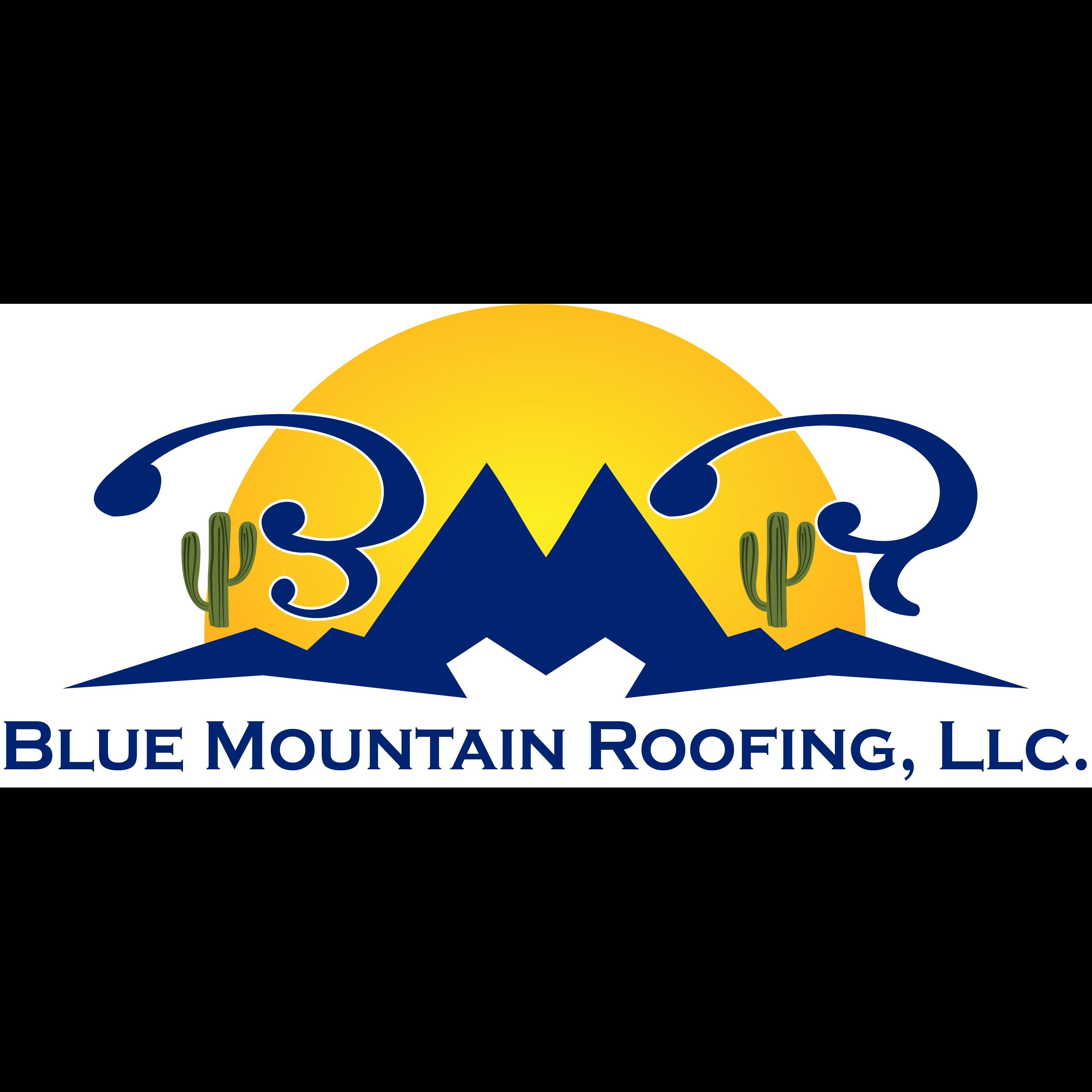 Blue Mountain Roofing Tucson   Roof Repair Logo