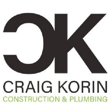 Craig Korin Construction and Plumbing Logo