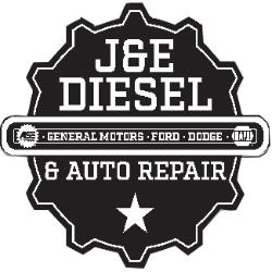 J&E Diesel and Auto Repair Logo