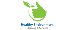 Healthy Environment Cleaning & Services Logo