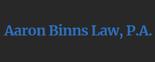 Aaron Binns Law, P.A Logo