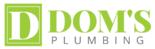 Dom's Plumbing Logo
