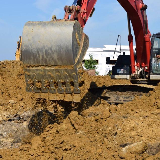 Curtis Excavation and Construction LLC Logo