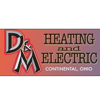 D&M Heating and Electric Logo