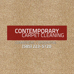 Contemporary Carpet Cleaning Logo