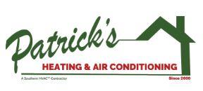 Patrick's Heating & Air Conditioning (HVAC) Logo