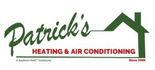Patrick's Heating & Air Conditioning (HVAC) Logo