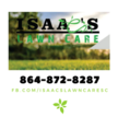 Isaac's Lawn Care Logo
