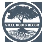 Steel Roots Decor Logo