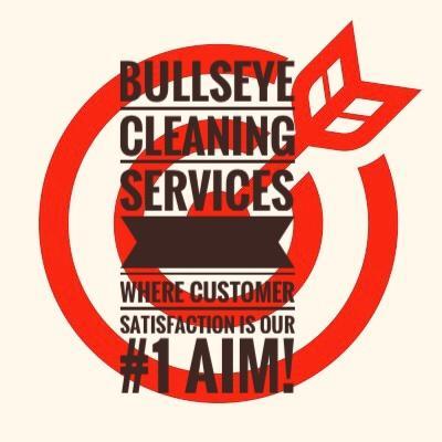Bullseye cleaning services Logo