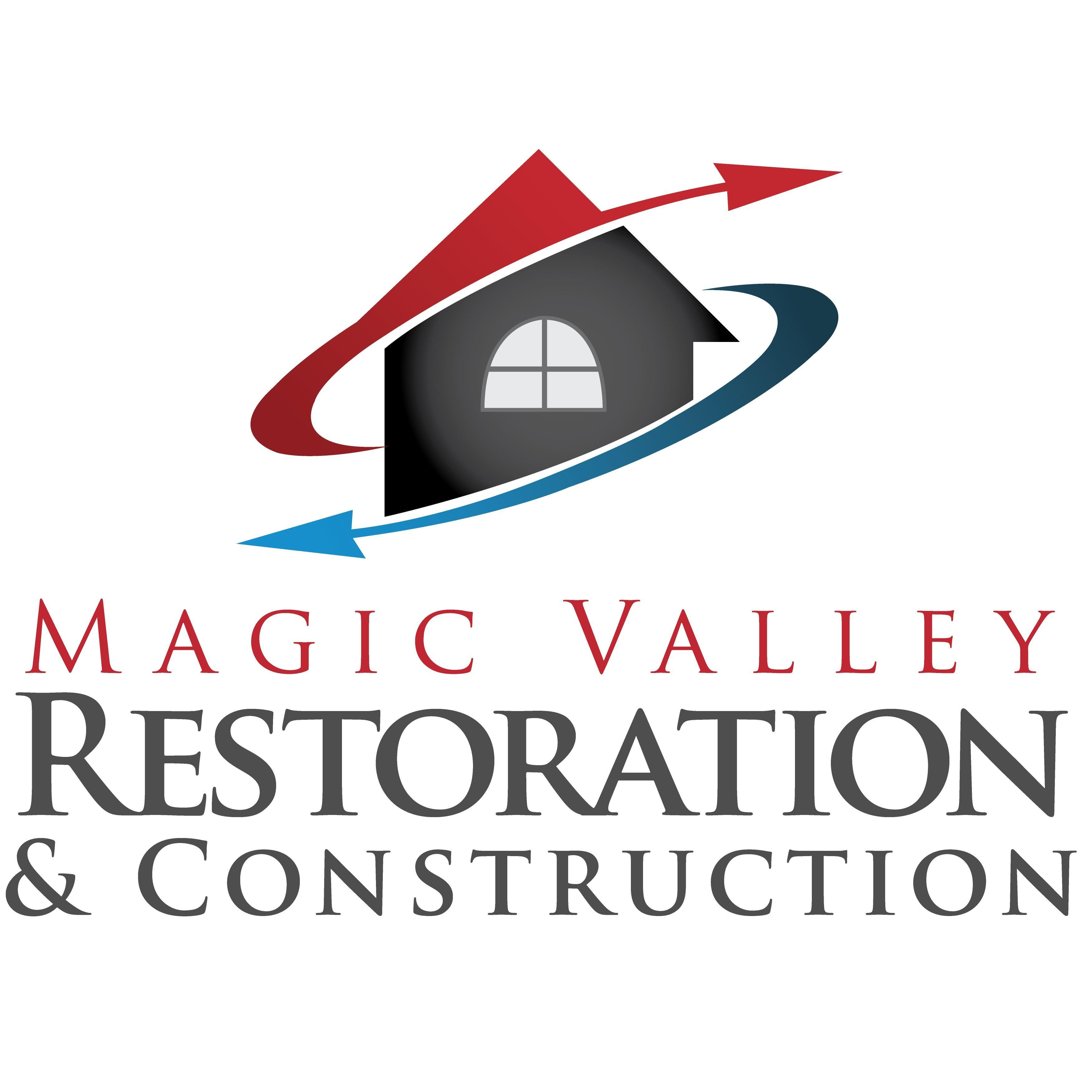 Magic Valley Restoration & Construction Logo