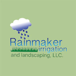 Rainmaker Irrigation & Landscaping Logo