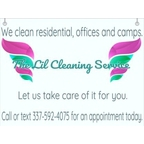 The Lil Cleaning Service Logo