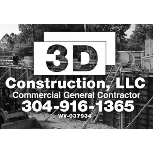 3D Construction LLC Logo