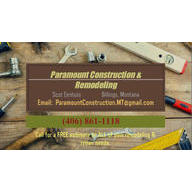 Paramount Construction and Remodeling Logo