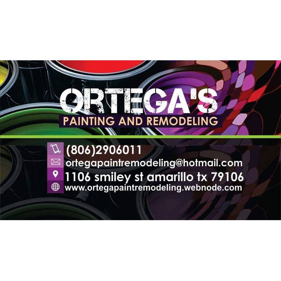 Ortega Painting and Remodeling Logo
