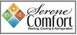 Serene Comfort Heating, Cooling & Refrigeration Logo